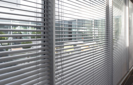 Grey Aluminium venetian blinds