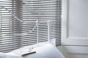 Grey Aluminium venetian blinds 3