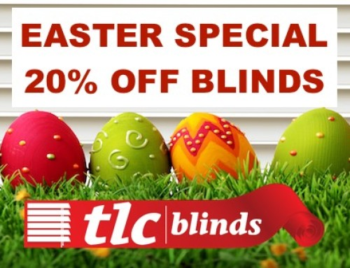 Get 20% Off Blinds During The Easter Month of March