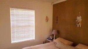 50mm white bash wood venititian blinds bedroom cape town