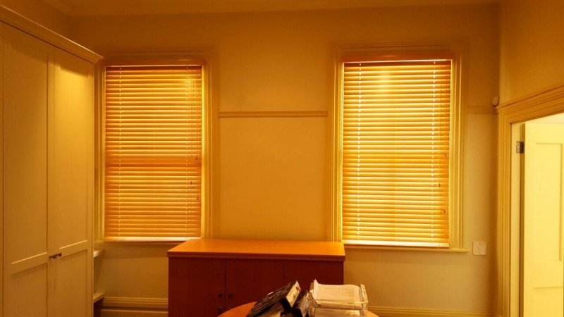 50 mm Wooden Venetian blinds