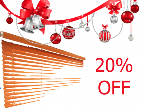 Get 20% Off Blinds This Christmas