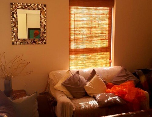 Bamboo Roller Blinds for your Lounge