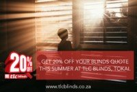tlc blinds cape town 20% off