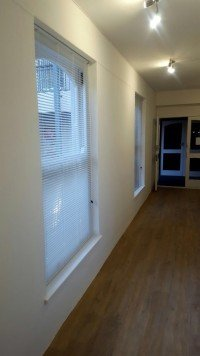 25mm Aluminium venetian blinds white