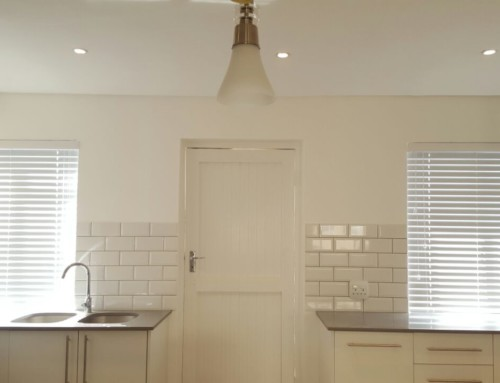 Elegant Kitchen Blinds