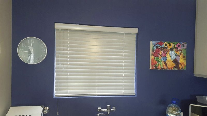 TLC Blinds Cape Town 50mm White Wood Venetian Blinds 001