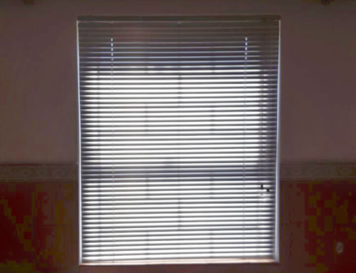 Venetian Blinds in your bathroom