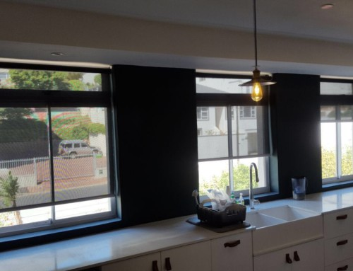 Sunscreen Roller Blinds and Blockout Roller Blinds in one!